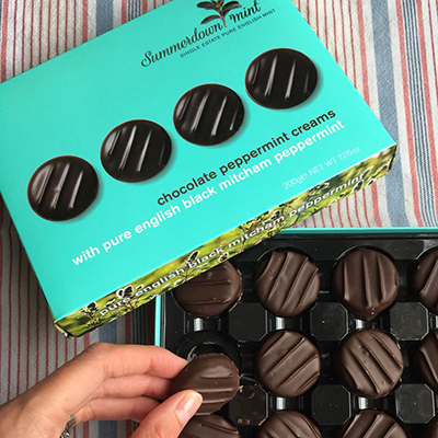 Summerdown Mint Chocolates and Teas
